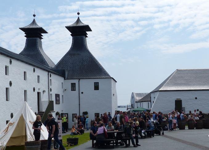Islay Festival Ardbeg distillery