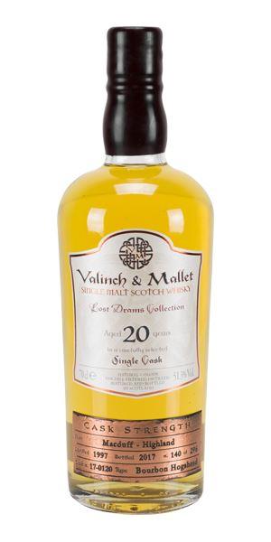 Macduff 20 Years Old, 1997 (Valinch & Mallet)