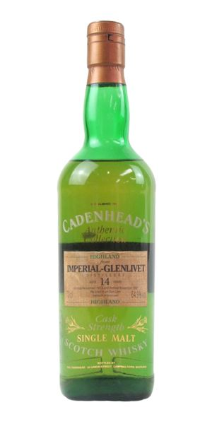 Imperial 14 Years Old, 1979, 'Authentic Collection' (Cadenhead)