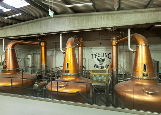 Teeling distillery in Dublin