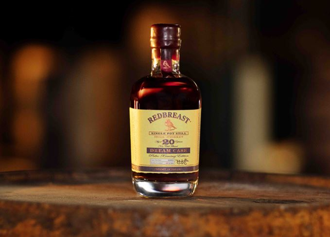 Redbreast Dream Cask bottle on cask