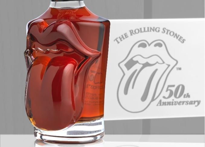 The Rolling Stones' 50th anniversary whisky