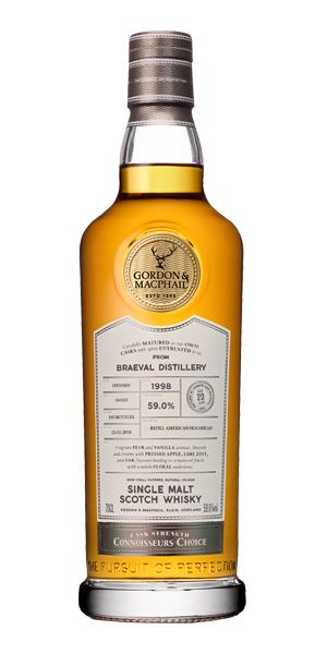 Braeval 20 Years Old, 1998, Connoisseurs' Choice (G&M)
