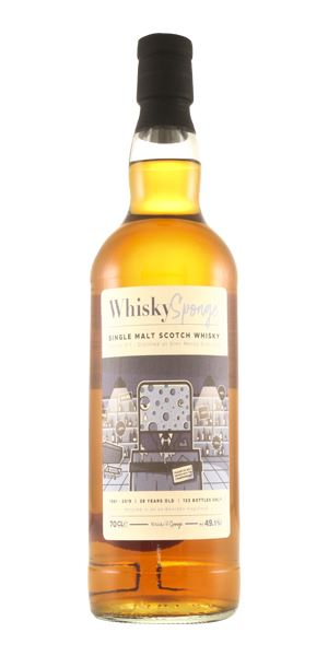 Glen Moray 38 Years Old (Whisky Sponge)