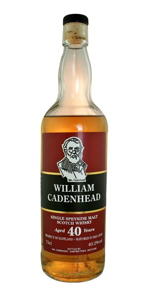 Speyside 40 Years Old Single Malt (William Cadenhead)