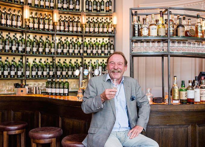 Charlie Maclean at the SMWS Kaleidoscope bar