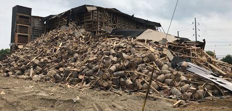 When Bourbon warehouses collapse