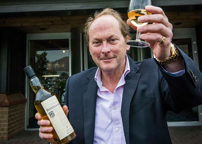 Leonard Russell, managing director of Ian Macleod Distillers