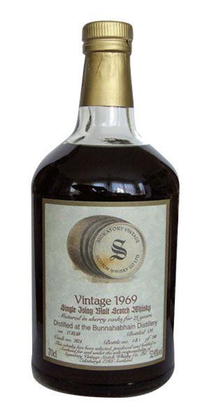 Bunnahabhain 25 Years Old, Cask #2024, Bottled 1995 (Signatory)