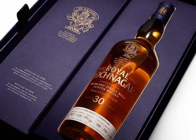 Prince Charles' Royal Lochnagar 30 Year Old expression
