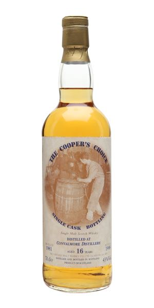 Convalmore 1981 16 Years Old Cooper's Choice