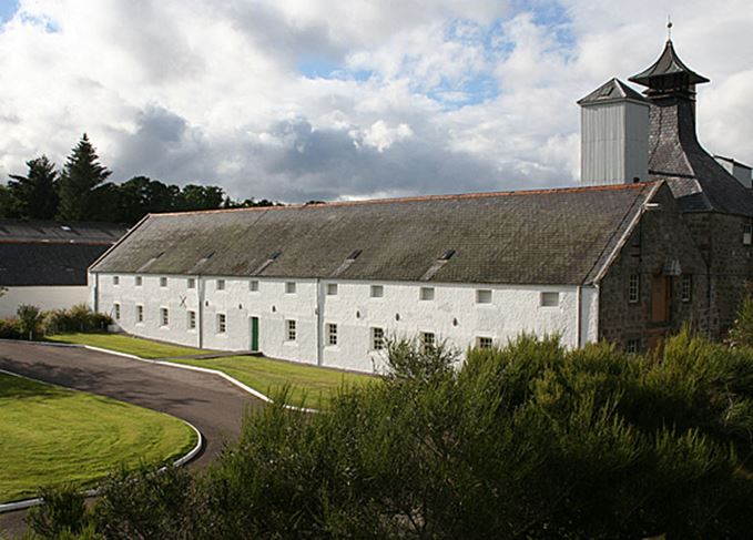 Dallas Dhu distillery in Forres, Moray