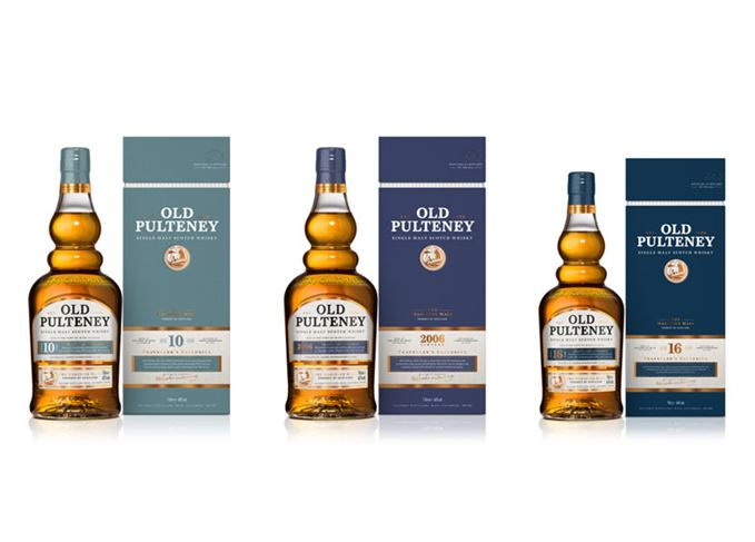Old Pulteney travel retail range
