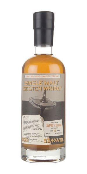 Speyside 15 Years Old Batch 1 (That Boutique-y Whisky Co)