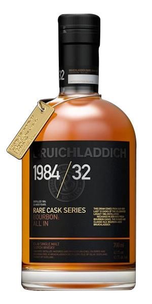 Bruichladdich Rare Cask Series 1984, 32 Years Old