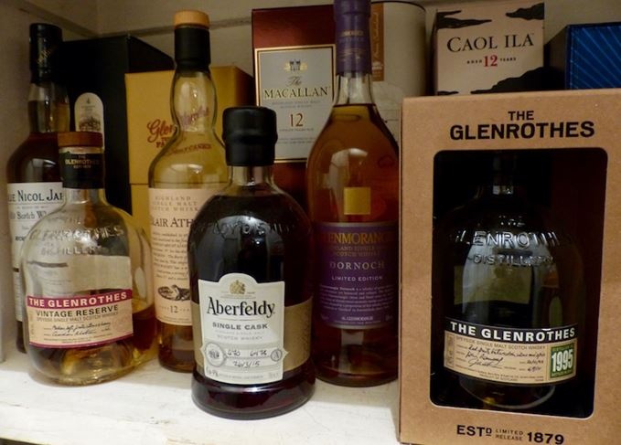 How to store Scotch whisky