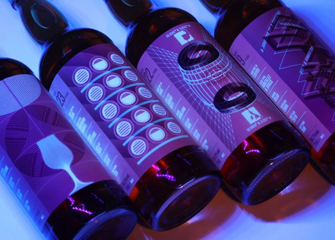 Whisky Show UV bottles