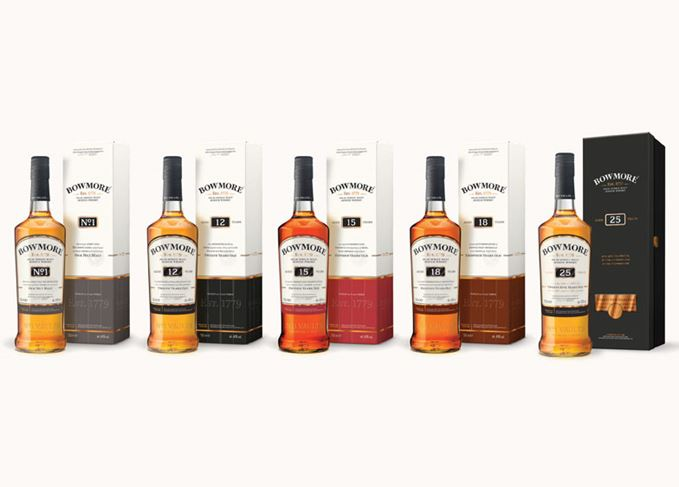 Bowmore new whiskies