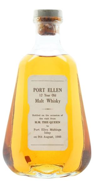 Port Ellen 12 Years Old, Bottled for the Queen's visit in 1980