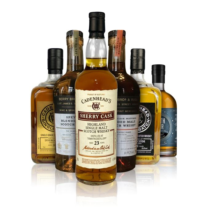 Batch 145: Invergordon, Royal Brackla, Sherry Cask Matured, Speyside, Strathclyde, Tomatin