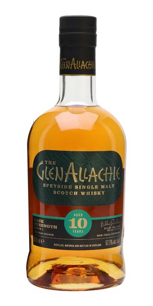 GlenAllachie 10 Years Old, Cask Strength Batch 1