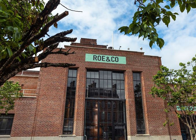 Roe & Co distillery in Dublin's Liberties