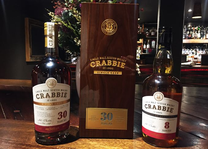 Crabbie whisky from John Crabbie & Co.