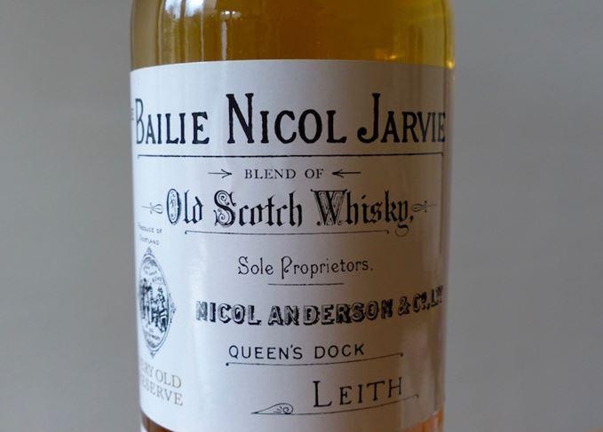 Bailie Nicol Jarvie label