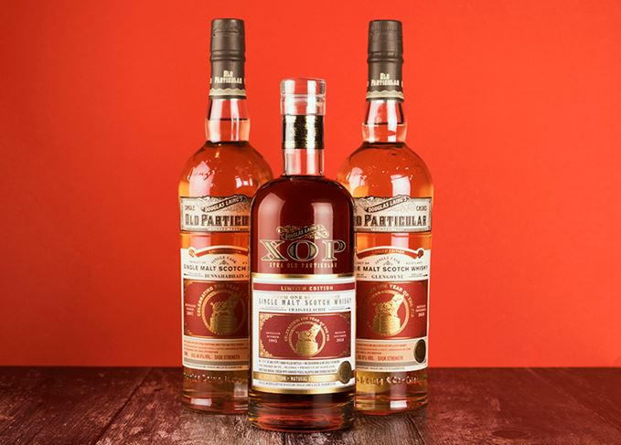 Douglas Laing Old Particular Bunnahabhain and Glengoyne 2007 vintages, Xtra Old Particular Craigellachie 1995