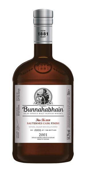 Bunnahabhain 2001 Sauternes Cask Finish, Fèis Ìle 2019