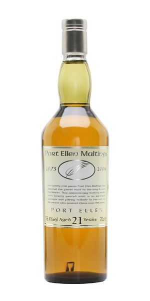 Port Ellen 21 Years Old (Maltings 25th Anniversary Bottling)