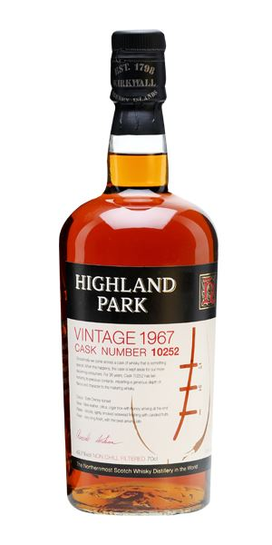 Highland Park 1967, 36 Years Old, Cask 10252
