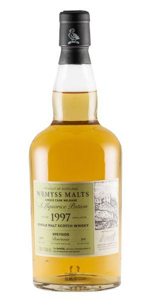 Benrinnes 1997 'Liquorice Potion' (Wemyss Malts)