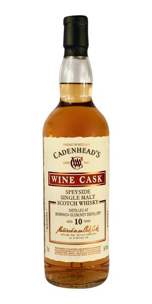Benriach 10 Years Old, Wine Cask (Cadenhead)