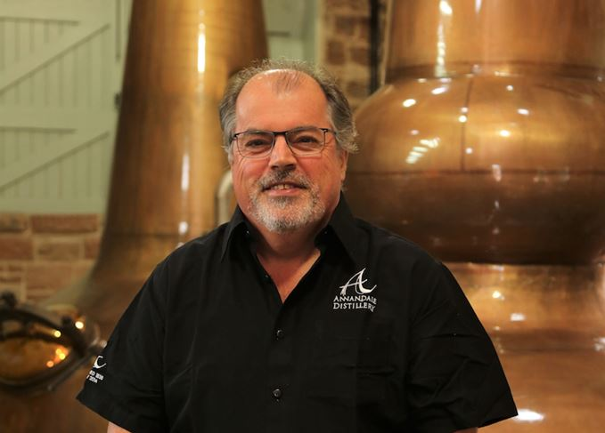 David Thomson Annandale distillery