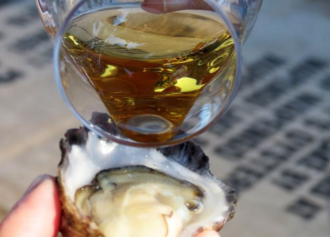 Whisky and oysters