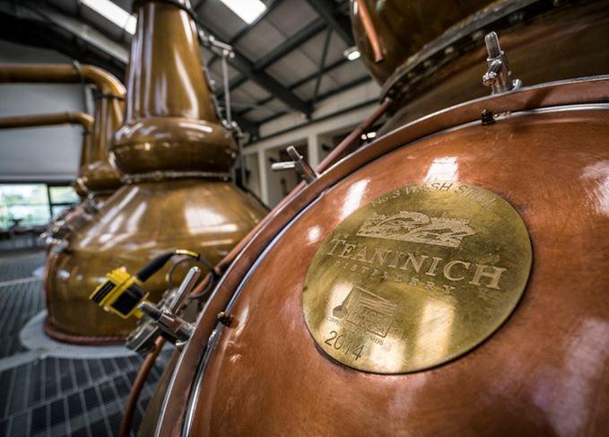 Teaninich distillery