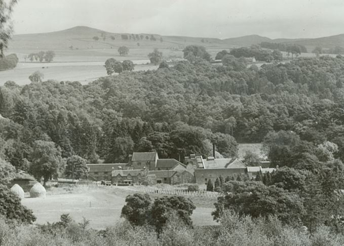 Blair Athol distillery in Perthshire in the 1940s