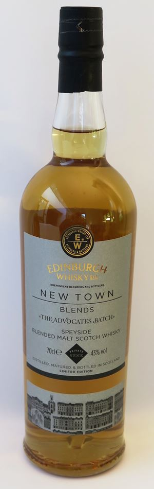 The Advocates Batch (Edinburgh Whisky)