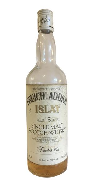 Bruichladdich 15 Years Old (1980s)