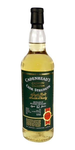 Old Pulteney 12 Years Old, 2006 (Cadenhead)
