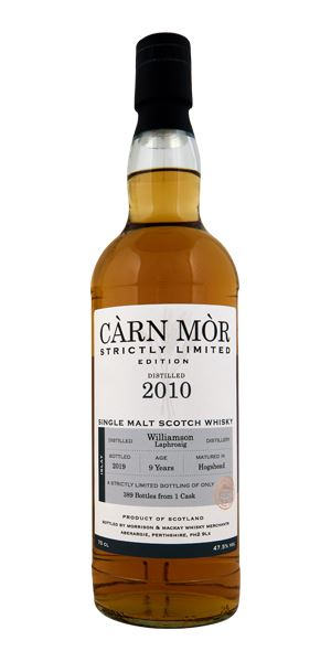 Laphroaig 9 Years Old, 'Williamson', Càrn Mòr (Morrison & MacKay)