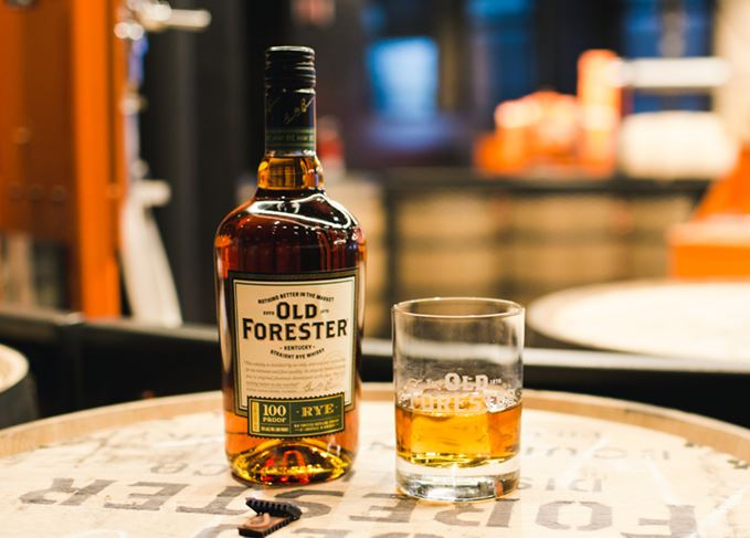 Old Forester Rye whiskey