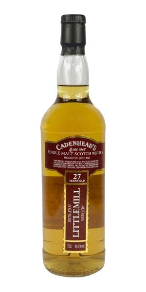 Littlemill 27 Years Old (Cadenhead)