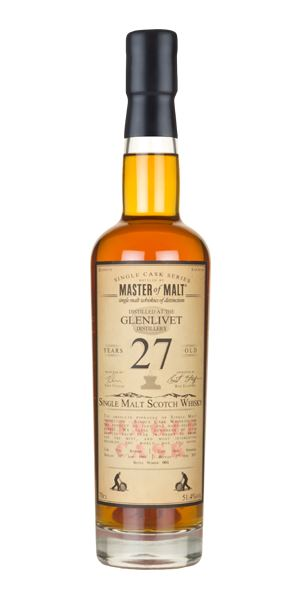 Glenlivet 27 Years Old, 1989 (Master of Malt)