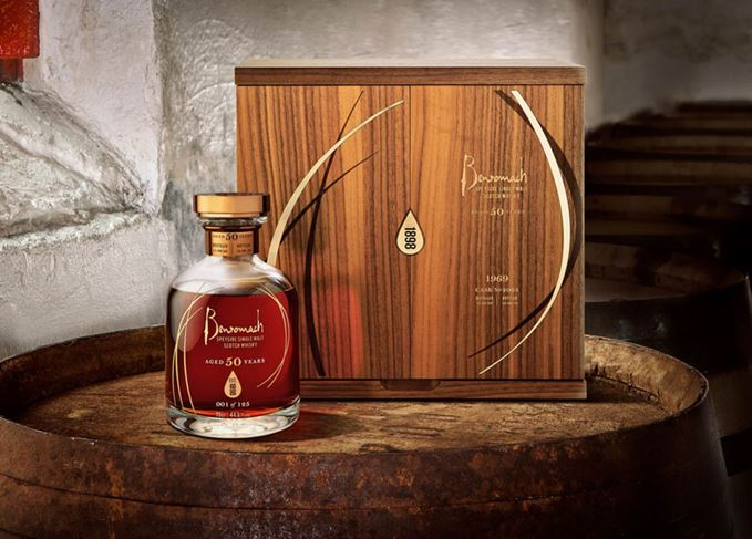 Benromach 50 year old 1969 vintage whisky