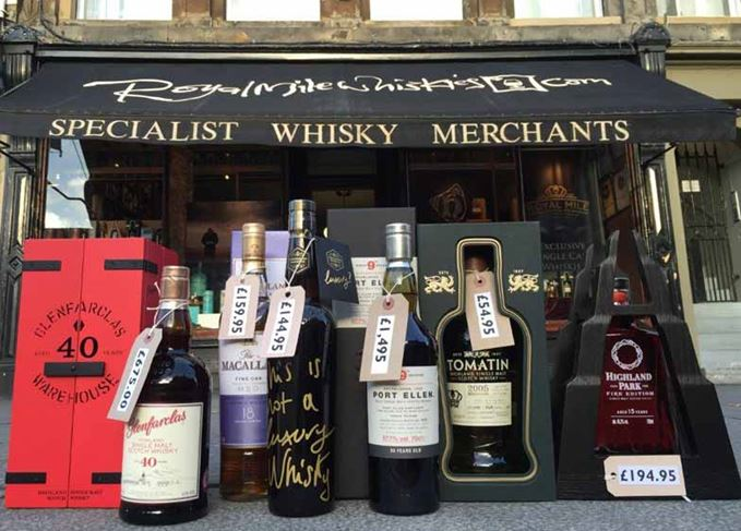 Royal Mile Whiskies auction