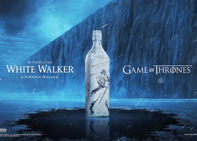 Johnnie Walker White Walker Game of Thrones whisky