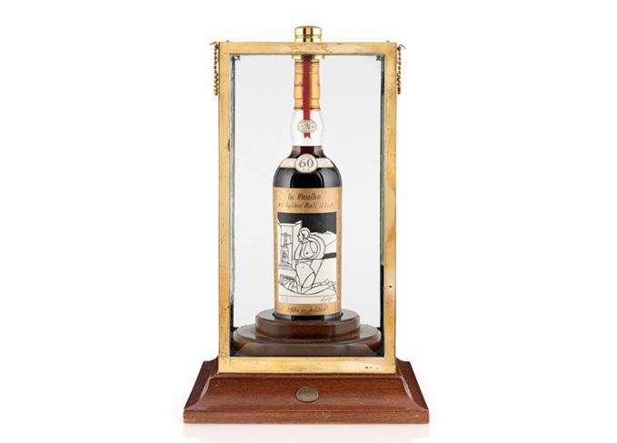 Macallan Valerio Adami auction