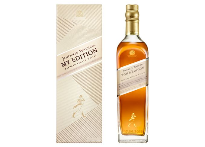 Johnnie Walker My Edition bottle and box
